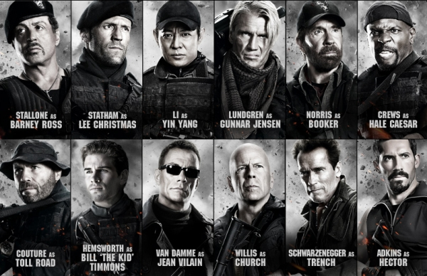 Stars Expendables 1 Poster Archives Fizmarble