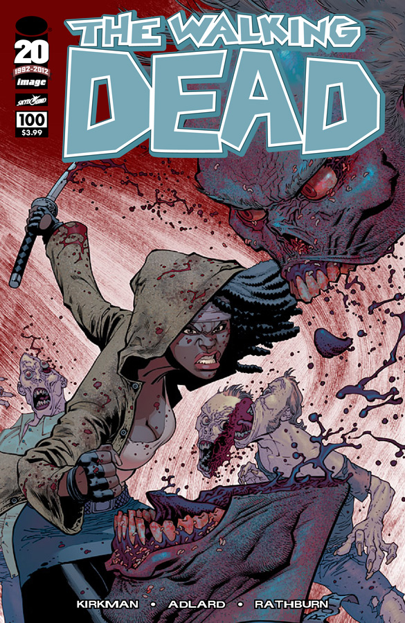 TWD100cover Ottley THE WALKING DEAD ISSUE #100 IS HERE! (SPOILERS GALORE)