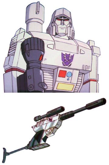 megatron repaint cartoon3 25 of The Greatest Fictional Weapons Ever (Part 1)