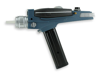 star trek phaser 25 of The Greatest Fictional Weapons Ever (Part 1)