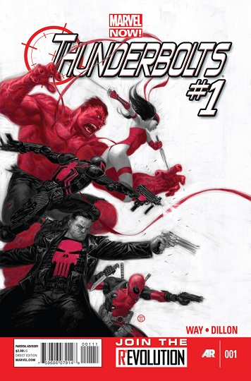 Thunderbolts 01 Cover rev More Marvel NOW   The New Thunderbolts