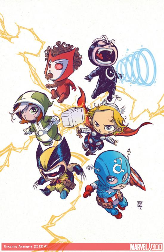 detail3 More Marvel NOW   Skottie Young Baby Variant Covers