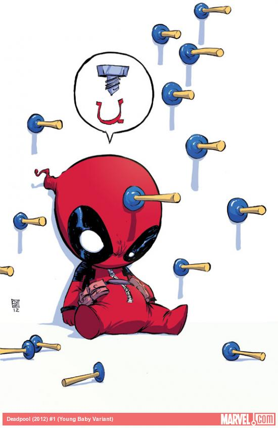detailsadfasd More Marvel NOW   Skottie Young Baby Variant Covers