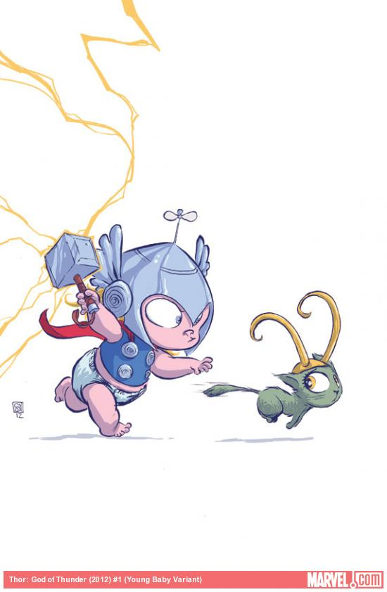 fff More Marvel NOW   Skottie Young Baby Variant Covers
