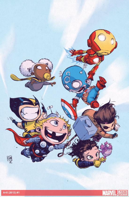 scdsadasdsad More Marvel NOW   Skottie Young Baby Variant Covers
