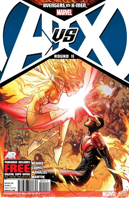 untitledwsdfdf Avengers vs. X men #11   Who Fell In Battle Today??? (SPOILERS)