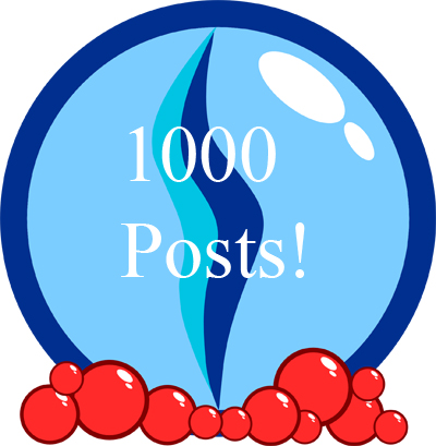 1000 posts Fizmarble.com celebrates 1000 posts!!