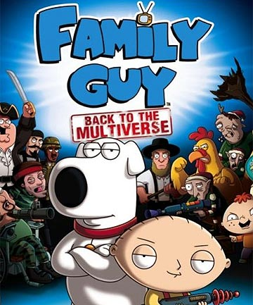 7054764 Family Guy: Back to the Multiverse   The Video Game