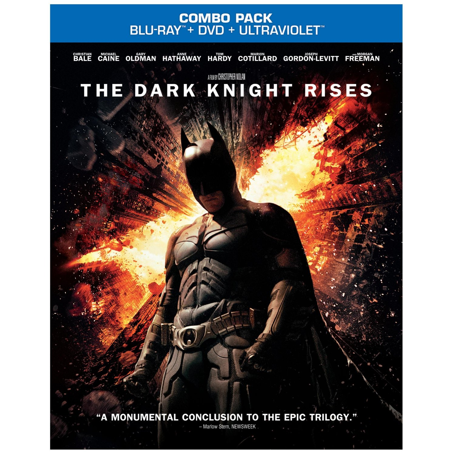 The Dark Knight Rises Blu Ray Dvd Amp Batman Trilogy