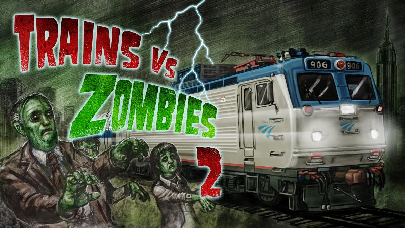 Скриншоты zombies  trains!