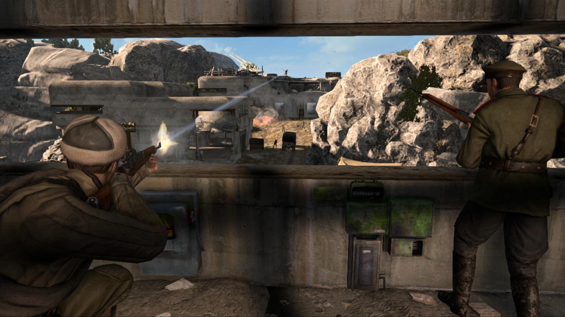 Mission 1 | wine bottles and gold bars sniper elite v2 game.