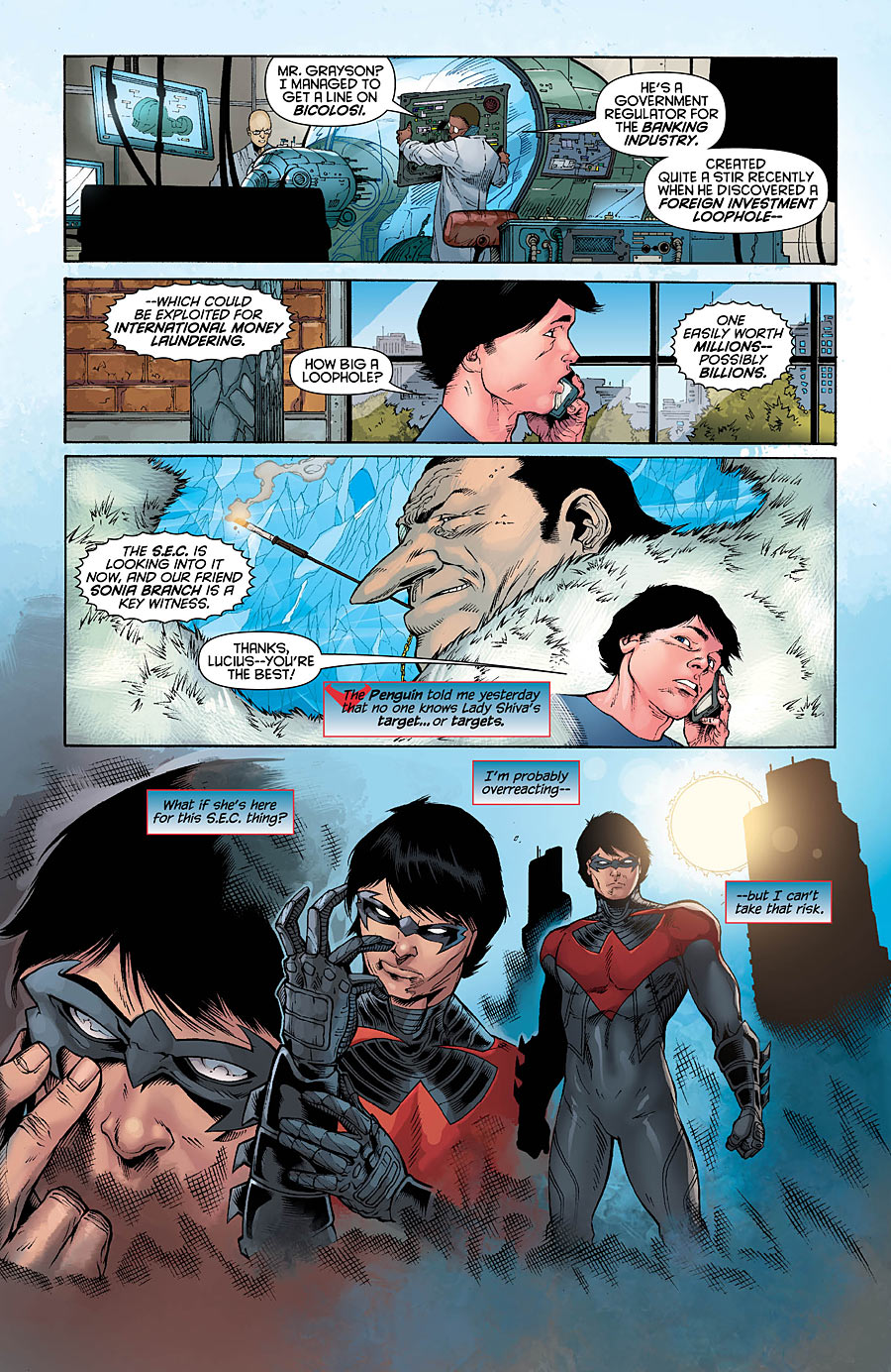 DC Comics - Nightwing #14 (Preview) - fizmarble