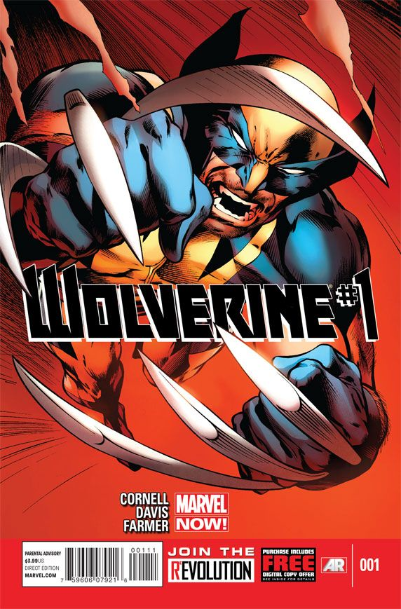 wolverine 1 A Look at the Newest Wolverine Comic Book from Marvel