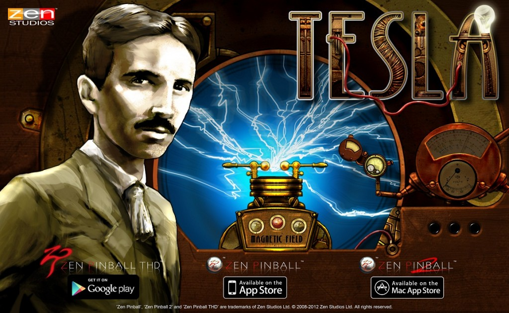 Zen Pinball THD Tesla key art 300dpi all logo 1024x630 Zen Classics Releasing This Wednesday for Pinball FX2 on Xbox LIVE® Arcade!