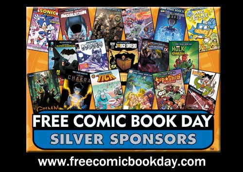 fcbdsilver FREE Comic Book Day Lineup for 2013