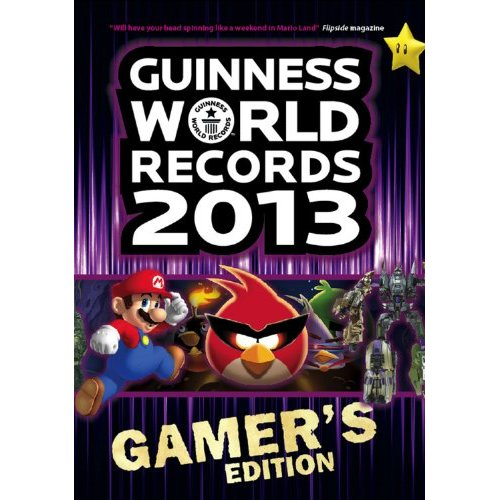 guiness book of world records gamer