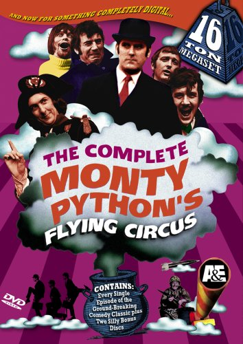 monty pythons flying circus Monty Pythons Flying Circus 16 Ton Megaset is $29.99 on DVD at Amazon