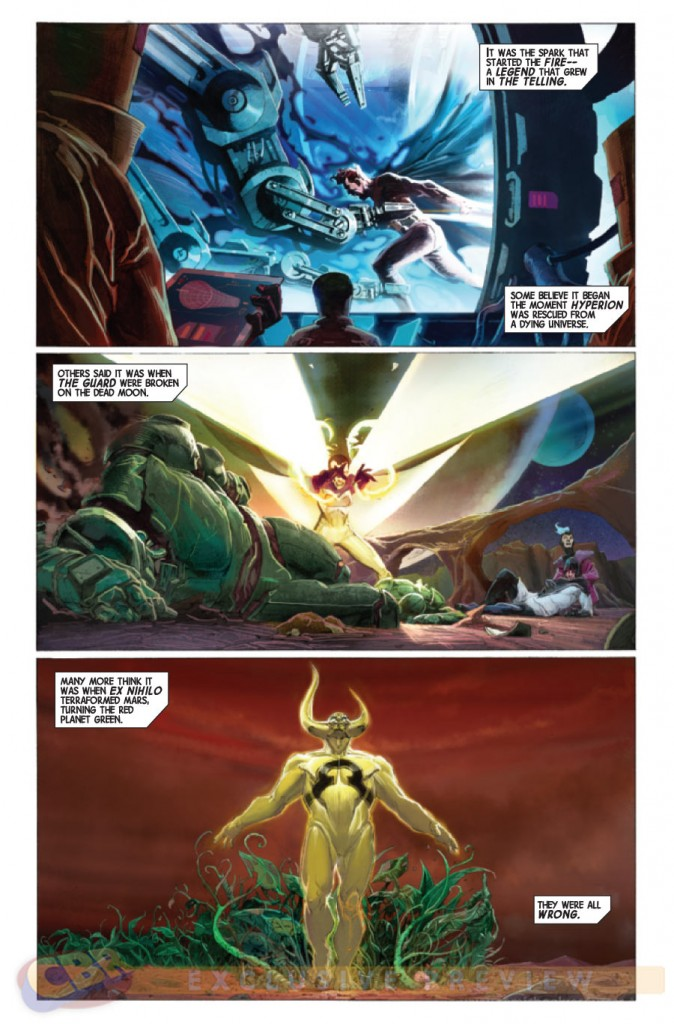 prv14395 pg10 674x1024 Marvel Comics   Avengers #1 (Preview & Video)