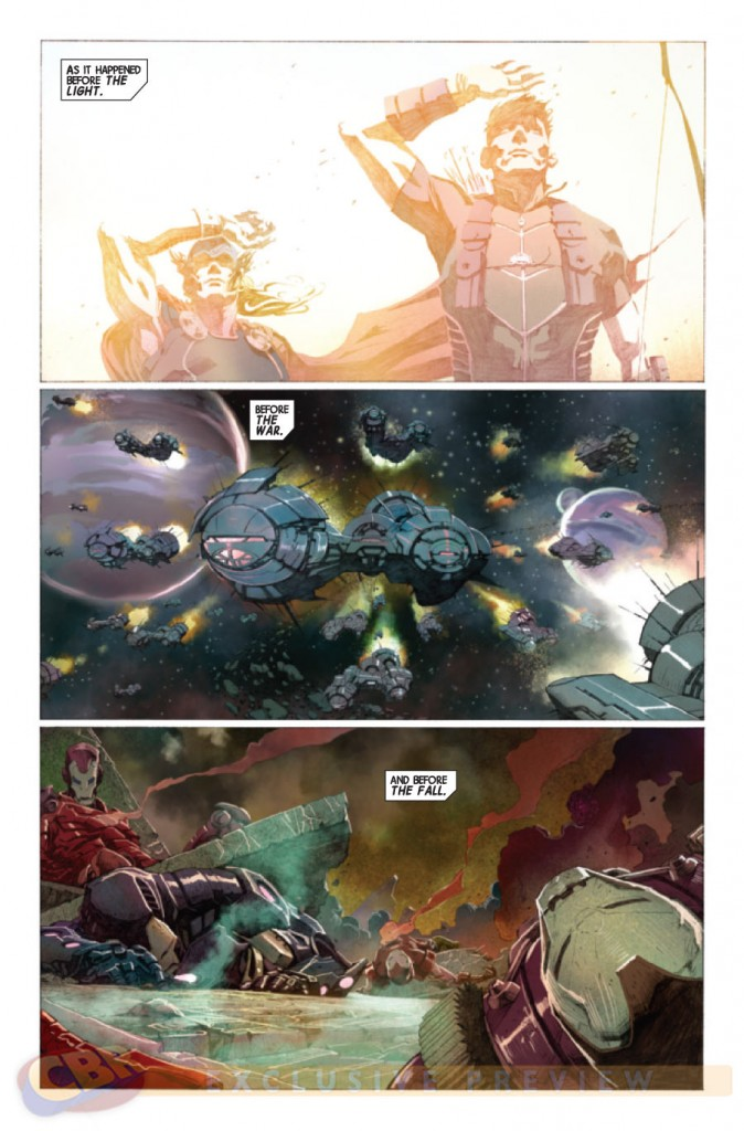 prv14395 pg11 674x1024 Marvel Comics   Avengers #1 (Preview & Video)