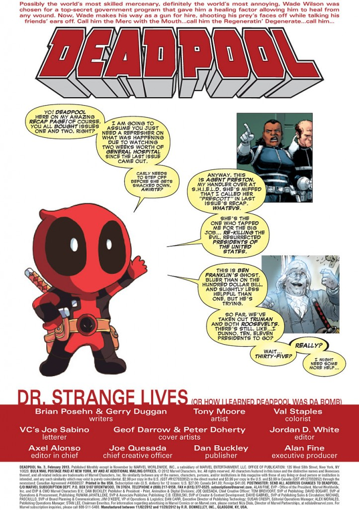 prv14404 pg2 722x1024 Marvel Comics   Deadpool #3 (Preview)
