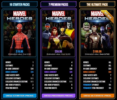 Marvel Heroes Founder Program