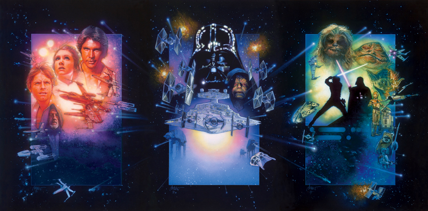 Star Wars Trilogy 850 Drew Struzan to Work on New Star Wars Films?!?