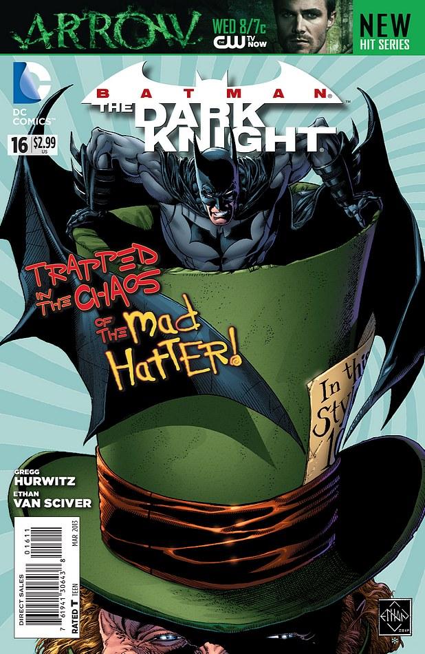 dc comics - batman  the dark knight  16  preview