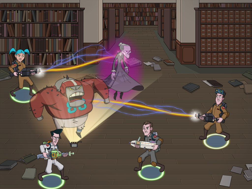 library battle 1 Ghostbusters is in the App Store for iOS