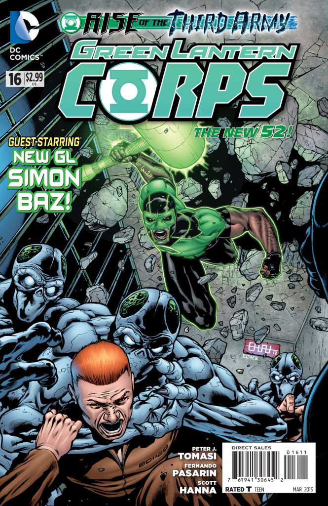 prv14925 cov 665x1024 DC Comics   Green Lantern Corps #16 (Preview)
