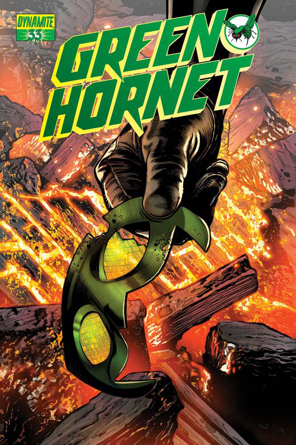 prv15010 cov Dynamite Entertainment   The Green Hornet #3 (Preview)