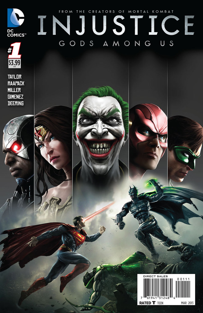 prv15048 cov 665x1024 DC Comics   Injustice: Gods Among Us #1 (Preview)