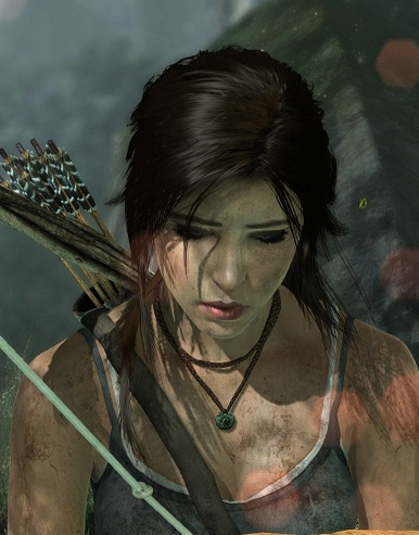 10200TR9 Concept Art v1 TR Cine 03 TressFX Lara Croft has a Good Hair Day with Tress FX