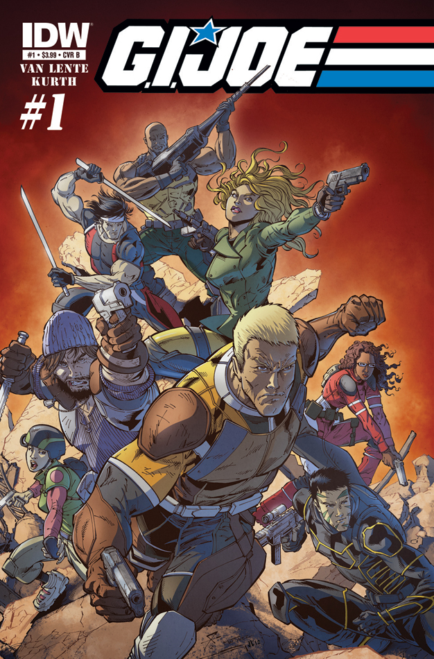 GIJOE New 01 CvrB IDW   G.I. Joe #1 (Preview)
