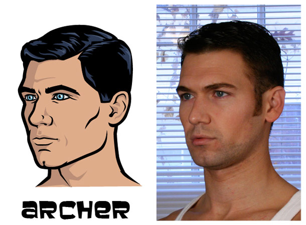 archer The Real Models for the Characters of Archer