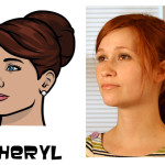 cheryl 150x150 The Real Models for the Characters of Archer