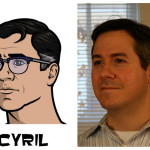 cyril 150x150 The Real Models for the Characters of Archer