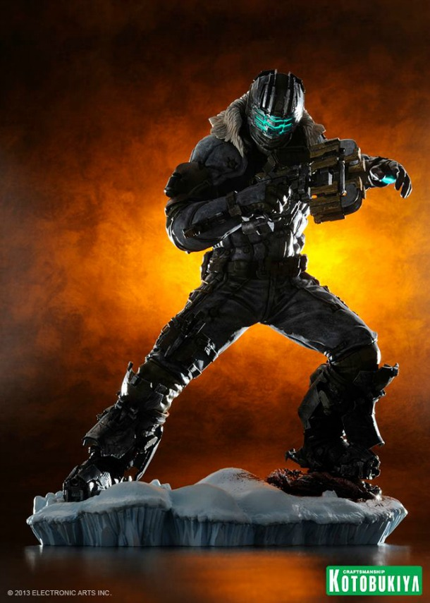 deadspace1 Dead Space 3 Issac Clarke Statue and Figure