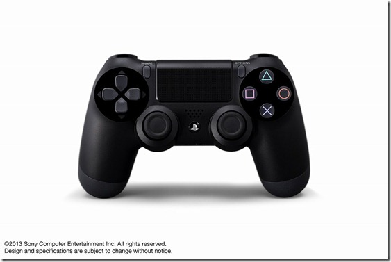 dualshock4 01 thumb Sony Introduces Playstation 4 Dualshock 4 Controller and Playstation 4 Eye