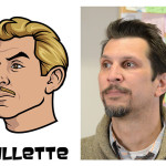 gillette 2 150x150 The Real Models for the Characters of Archer