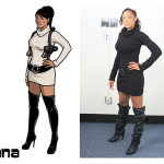 lana 2 150x150 The Real Models for the Characters of Archer