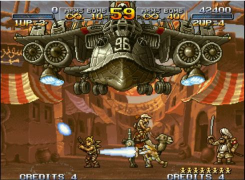 metal slug 2 playmore 03 METAL SLUG 2 Enlisted for Duty on iOS and Android Devices