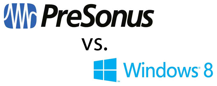 presonus vs windows8 Presonus forces legacy users out the door?  Goodbye Presonus.