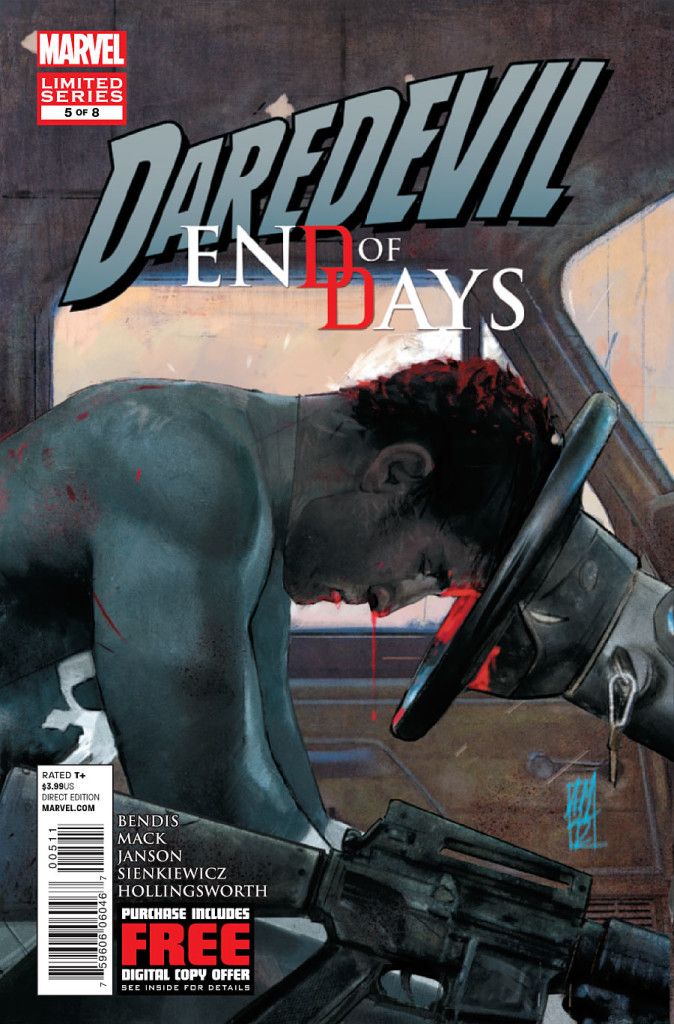 prv15064 cov 674x1024 Marvel Comics   Daredevil: End of Days #5 (Preview)