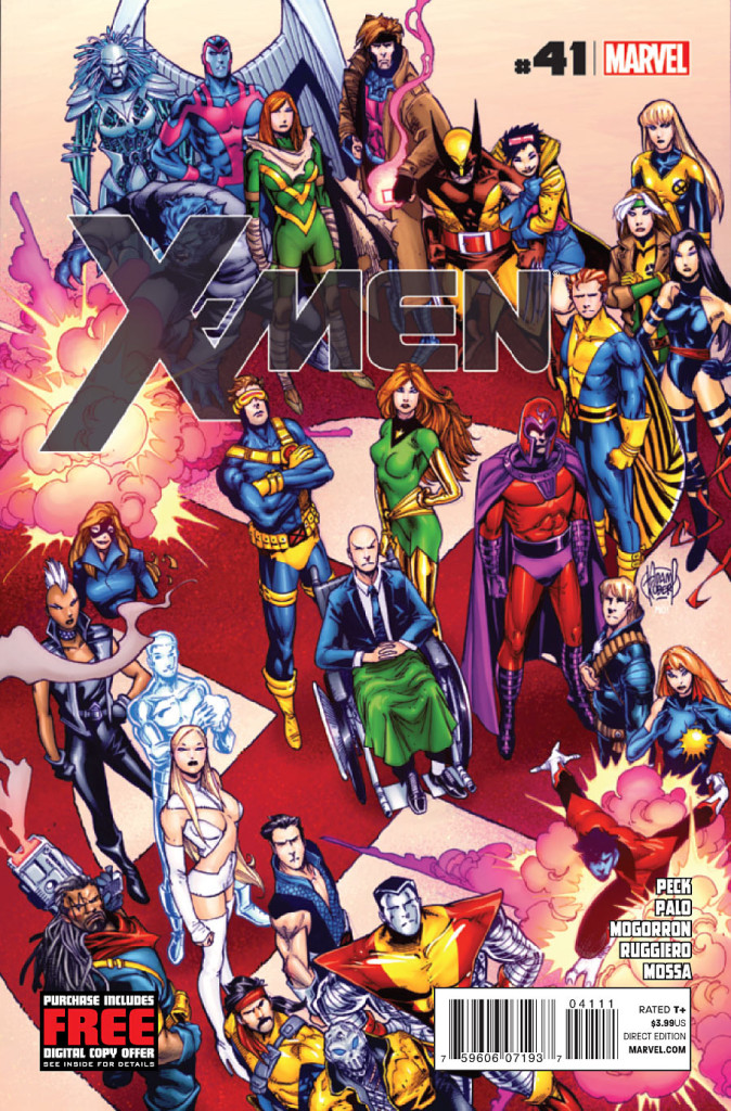 prv15184 cov 674x1024 Marvel Comics: X men #41 (Preview)