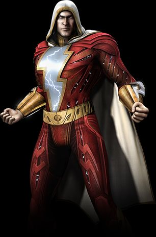 Shazam Is The Newest Character To Be Announced As A Playable Fighter In Upcoming Injustice Gods Among Us Fighting Game Former Captain Marvel