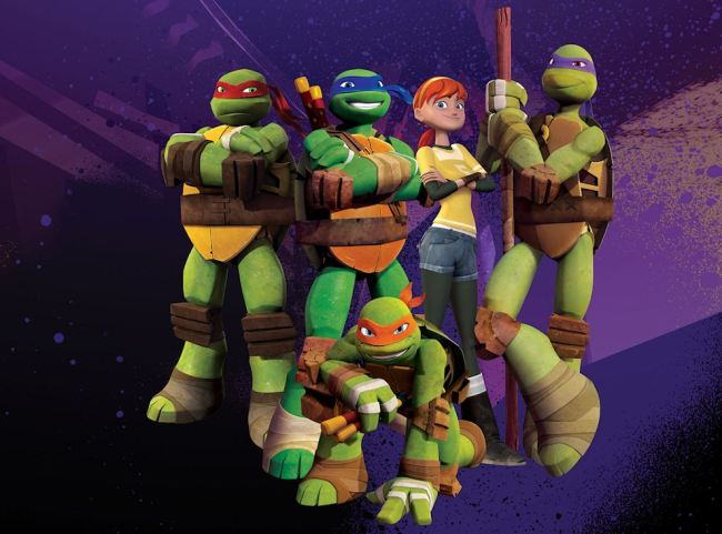 turtles group incl april Nickelodeon and Activision Sign Multi Year Deal to Produce Teenage Mutant Ninja Turtles Video Games