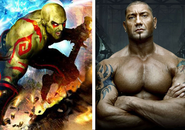 Drax Casting Dave Bautista Cast as Drax the Destroyer in Guardians of the Galaxy