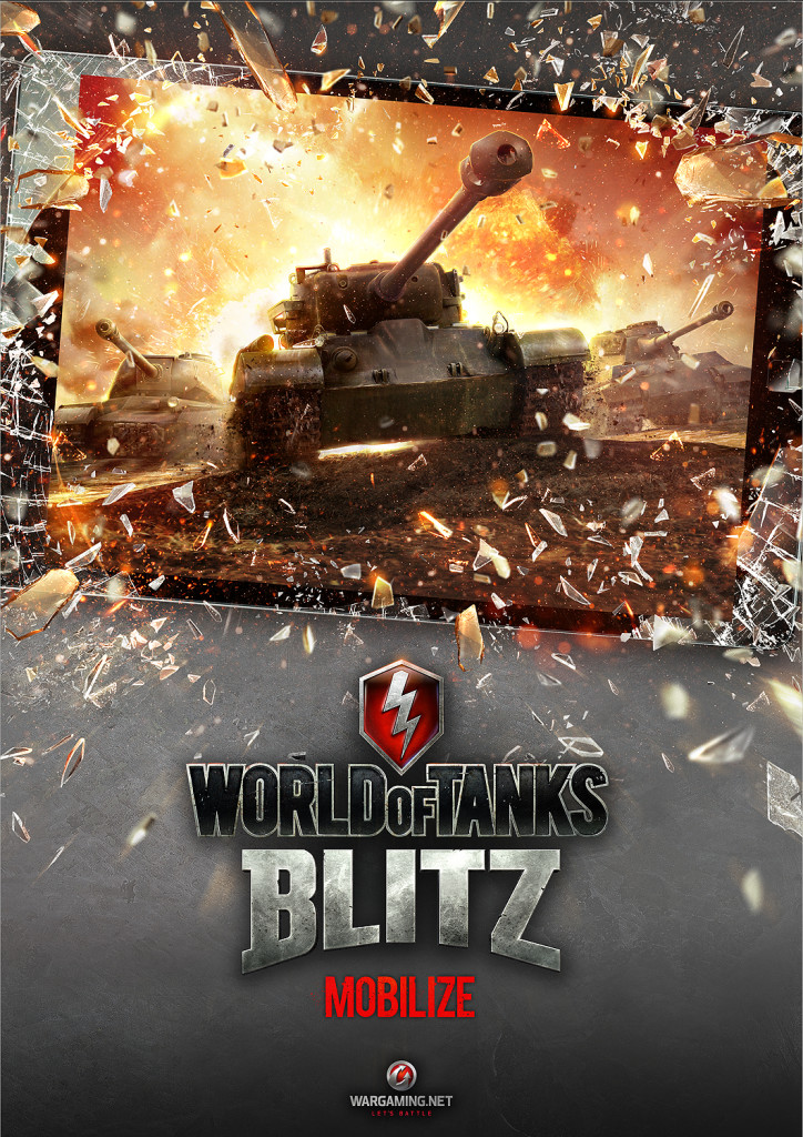 WoT Blitz KeyArt Logo 724x1024 World of Tanks Blitz to Storm Tablets and Smartphones
