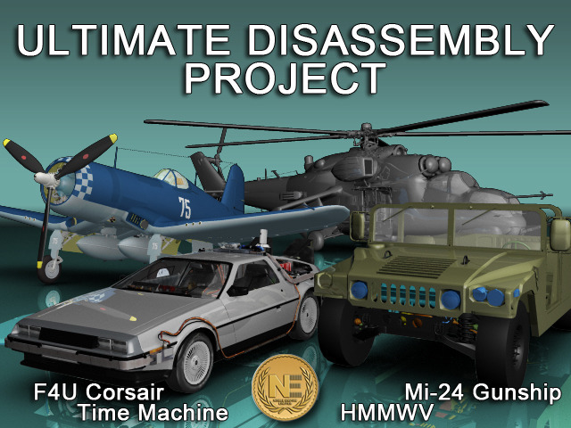 photo main Noble Empire has started Ultimate Disassembly Project on Kickstarter