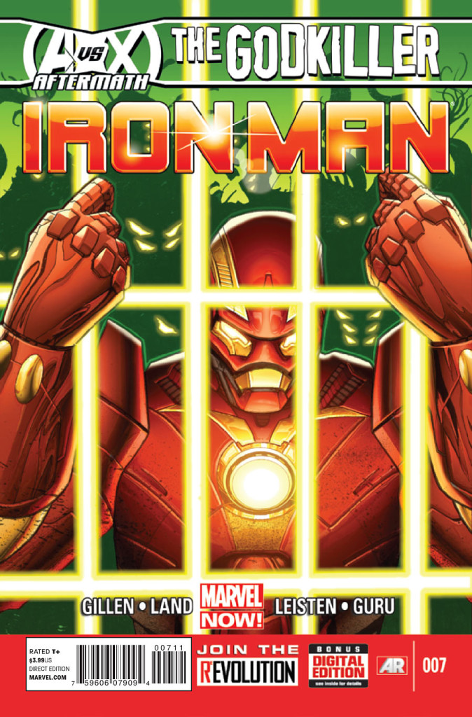 prv15497 cov 674x1024 Marvel Comics   Iron Man #7 (Preview)